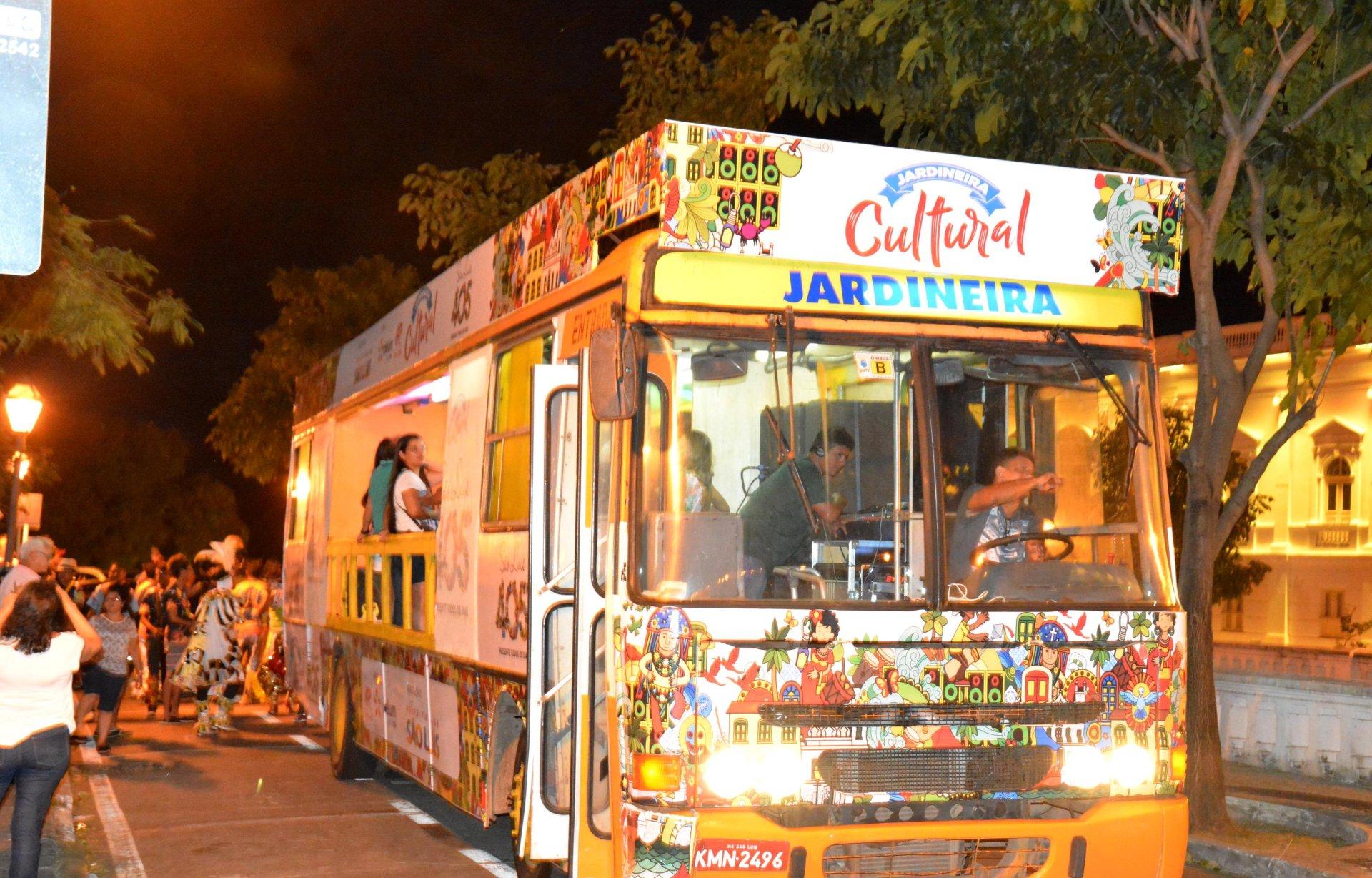 fcce1fcf7b Jardineira é opção na programação cultural dos 405 anos de São Luís neste  domingo (10)