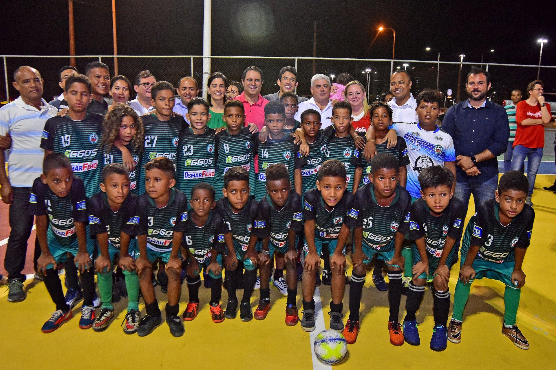 5bfcb97bc Agência Metropolitana e Prefeitura de São Luís entregam à população área  revitalizada na Ilhinha